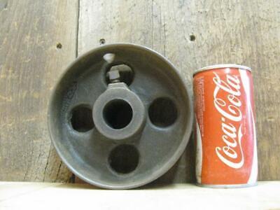 Antique Hit Miss Gas Steam Engine Line Shaft Flat Belt Pulley 6 X 2.5