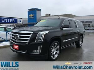 2015 Cadillac Escalade ESV PREM| NAV | 22 WHEELS | SUNROOF | DVD