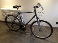 "Raleigh Pioneer 2 23"" frame, Dark Grey £50"
