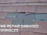 ROOF REPAIRS AND INSTALLATION, LEAKS,HOLES,MISSING SHINGLES