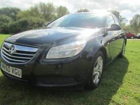 Vauxhall Insignia 2.0 CDTi ecoFLEX 16v Exclusiv 5dr Good / Bad Credit Car Finance (black) 2011