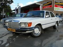 1976 Mercedes-Benz 280 W116 SE White 3 Speed Automatic Sedan Coopers Plains Brisbane South West Preview