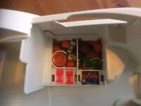 Playmobil family yacht and accessories in good used condition.