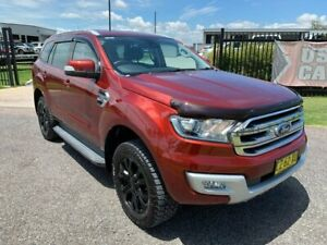 2015 Ford Everest UA Trend Red 6 Speed Sports Automatic SUV Singleton Singleton Area Preview