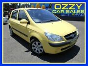 2010 Hyundai Getz TB MY09 S Yellow 5 Speed Manual Hatchback Penrith Penrith Area Preview