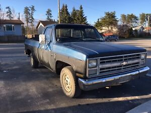 1986 chevy c10 forsale or trade (bus/camper)