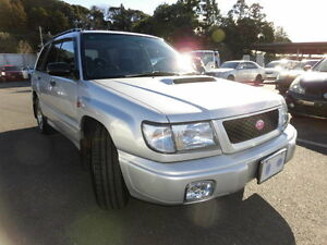 Subaru Forester S/TB - Turbo 5 speed / JDM RHD