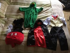Halloween Costume: 4-piece Mickey Mouse Strathcona County Edmonton Area image 1