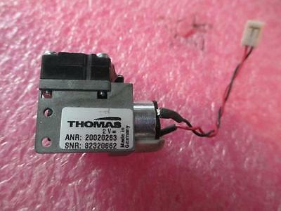Thomas Miniature Diaphragm Vacuum Air Pump 2vdc 20020263 1319t7.5s 1307