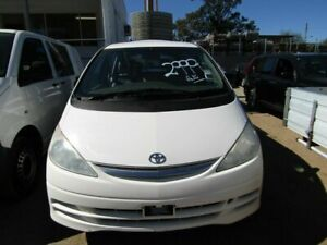2001 Toyota Tarago White 4 Speed Automatic Wagon Moorooka Brisbane South West Preview