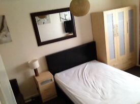 Large Double room in modern profesional household