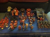 Warhammer 40K Blood angels (large army) Case not included)