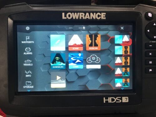 Lowrance HDS 7 Carbon GPS / Fishfinder with Insight Charts