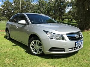 2010 Holden Cruze JG CD Silver 6 Speed Sports Automatic Sedan Embleton Bayswater Area Preview