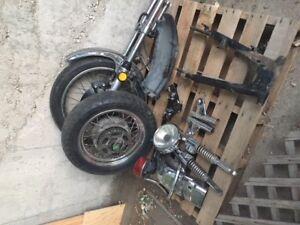 1975 Z1 Kawasaki parts
