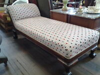 VICTORIAN CHAISE LOUNGE{SOLD}