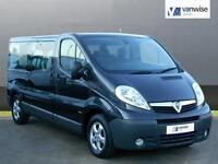 2013 Vauxhall Vivaro 2900 COMBI CDTI TECSHIFT SWB Diesel black Semi Auto