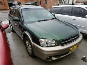 1999 Subaru Outback MY00 Green 5 Speed Manual Wagon Georgetown Newcastle Area Preview