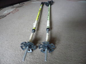Ski poles that double as avalanche probes