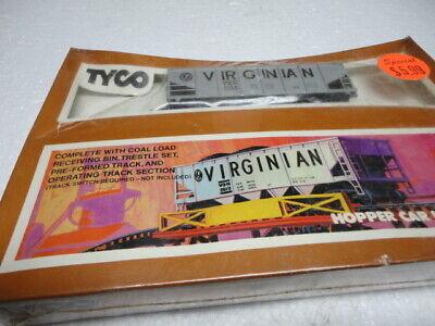 TYCO HO SCALE Train Virginian Hopper Car Unloading Set # 862 ' New Sealed
