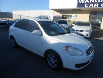 2006 Hyundai Accent MC 1.6 White 4 Speed Automatic Hatchback Wangara Wanneroo Area Preview