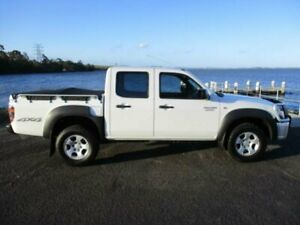 2011 Mazda BT-50 09 Upgrade Boss B3000 DX (4x4) White 5 Speed Manual Dual Cab Pick-up Dapto Wollongong Area Preview