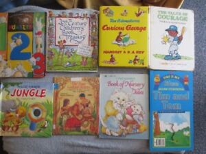 **large lot of Children's Books & puzzles FOr Sale ( +-55 books)