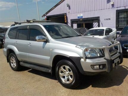 2006 Toyota Landcruiser Prado GRJ120R GX Limited Silver 5 Speed Automatic Wagon North St Marys Penrith Area Preview