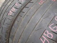 215/40/17 Bridgestone Potenza S001, XL, Audi x2 A Pair, 5.0mm (454 Barking Rd, Plaistow, E13 8HJ)
