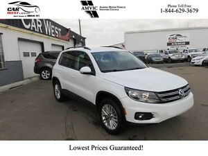 2016 Volkswagen Tiguan w/ HEATED SEATS, AWD, BACK-UP CAMERA