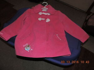 Girl's Spring/Fall Jackets Size 4T, 5T and 6T