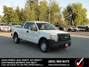 2011 FORD F-150 XL EXT SHORT BOX 4X4 **ONLY 65,000KM**