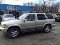 2001 Nissan Pathfinder Fully Certified and Etested!