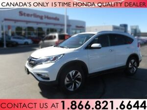 2016 Honda CR-V TOURING | 1 OWNER | NO ACCIDENTS | NAVIGATION