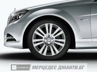 OEM Mercedes Benz Wheels and Tires - Winter - C-Class, Alloy