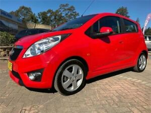 2011 Holden Barina Spark MJ MY11 CD Red Manual Hatchback South Nowra Nowra-Bomaderry Preview