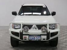 2013 Mitsubishi Triton MN MY13 GL-R (4x4) White 5 Speed Manual Dual Cab Utility Hillman Rockingham Area Preview