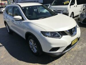 2015 Nissan X-Trail T32 ST (FWD) White Continuous Variable Wagon Rockdale Rockdale Area Preview