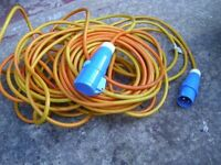 Electric Hook -up Cable for caravan/motorhome