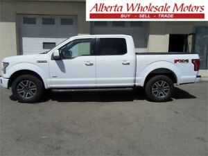 2015 FORD F-150 LARIAT SUPERCREW SHORT BOX 4X4 WE FINANCE ALL