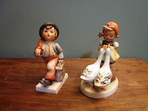 2 Figurines Hummel Antique #11 et #47
