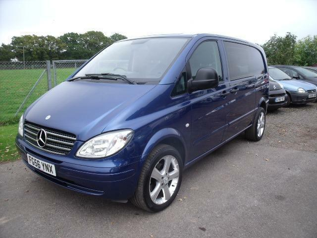 mercedes vito 111 cdi compact 6 seats blue manual diesel 2006 in henfield west sussex. Black Bedroom Furniture Sets. Home Design Ideas
