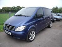 MERCEDES VITO 111 CDI COMPACT - 6 SEATS, Blue, Manual, Diesel, 2006