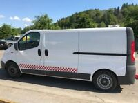 Vauxhall Vivaro RDT Unit , fitted with J &J Conversions 1400kg Rapid Deployment trailer