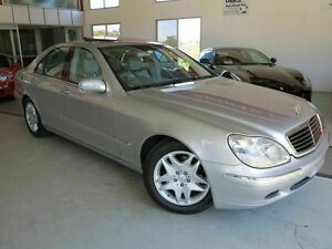 2001 Mercedes-Benz S320 W220 Silver 5 Speed Automatic Sedan Albion Brisbane North East Preview