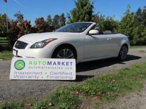 2011 Infiniti G37 S, CABRIOLET, INSPECTED, WARRANTY & FINANCING