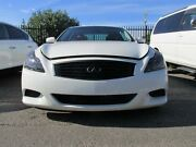 2008 Nissan Skyline V36 370 GT White Automatic Coupe St Peters Marrickville Area Preview