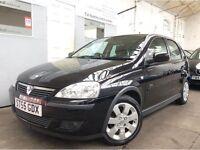 Vauxhall Corsa 1.2 i 16v SXi 5dr BLACK ++ FSH ++ ALLOYS