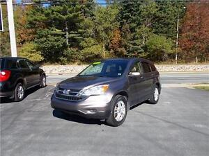 2011 HONDA CRV EX-L 4WD...LOADED WITH LEATHER, SUNROOF & MORE!!