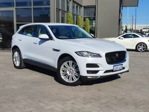 2017 Jaguar F-PACE X761 MY17 30d AWD Portfolio White 8 Speed Sports Automatic Wagon Osborne Park Stirling Area Preview